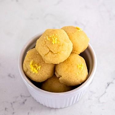 No-Bake Lemon Cookie Balls Recipe   SideChef
