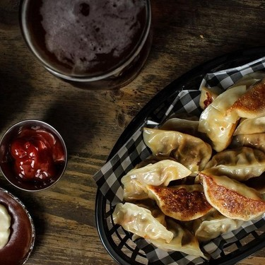 Potstickers (Bacon Cheeseburger) Recipe | SideChef