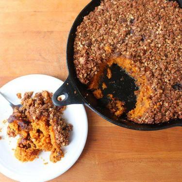 Sweet Potato Casserole Recipe | SideChef