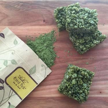 Matcha Rice Krispy Treats Recipe   SideChef