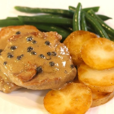 Pork Au Poivre (Peppercorn Sauce) Recipe | SideChef