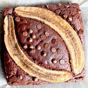 Vegan Banana Chocolate Cake Recipe | SideChef