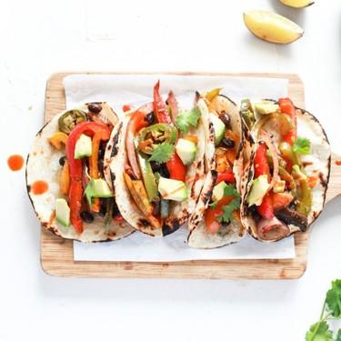 Vegan Black Bean Sheet Pan Tacos Recipe   SideChef