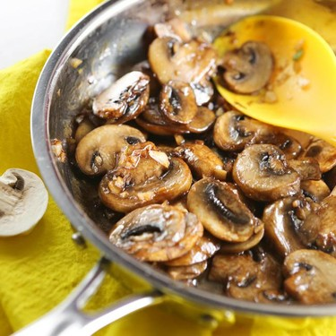 Soy Sauce Glazed Mushrooms Recipe   SideChef
