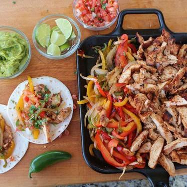 Grilled Chicken Fajitas Recipe   SideChef