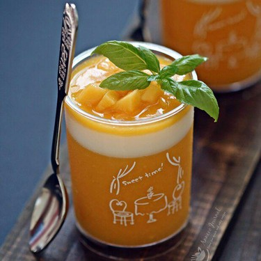 Healthy and Easy Mango Pudding Recipe   SideChef