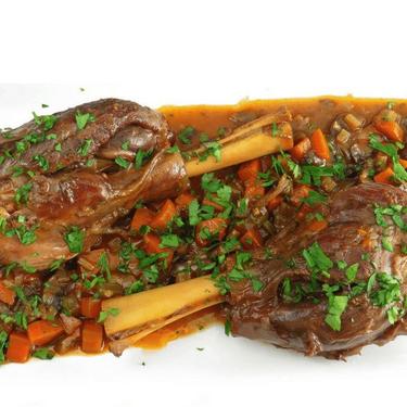 Braised Lamb Shanks Recipe | SideChef