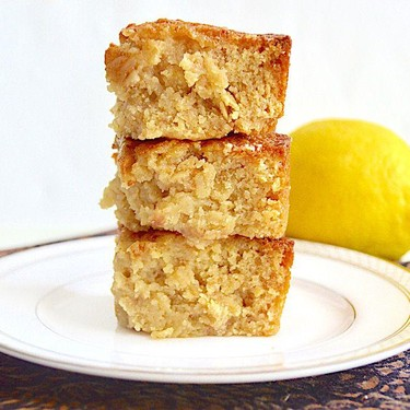 Strawberry Lemon Oat Blondies Recipe   SideChef