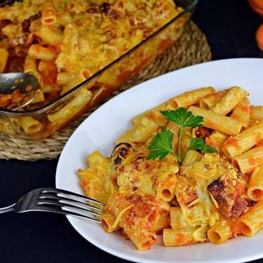 Cheesy Chorizo Macaroni Bake Recipe   SideChef