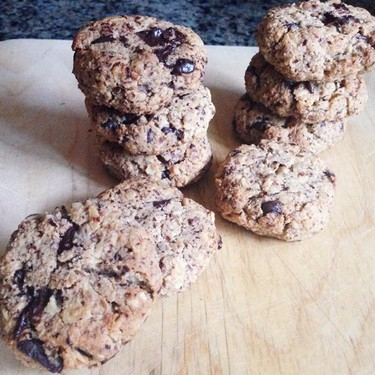 Almond Meal Chocolate Chip Oatmeal Cookies Recipe   SideChef