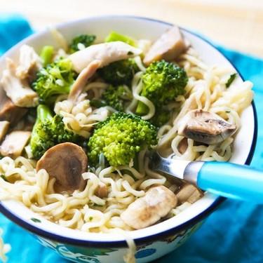 Chicken Veggie Ramen Bowl Recipe | SideChef