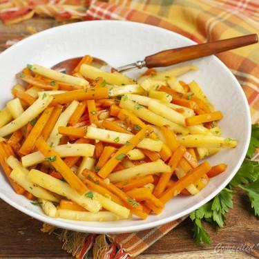 Honey Garlic Carrots and Parsnips Recipe   SideChef