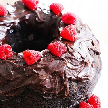 Chocolate Raspberry Bundt Cake Recipe   SideChef