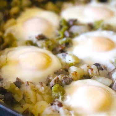 Cowboy Hash and Eggs Recipe | SideChef
