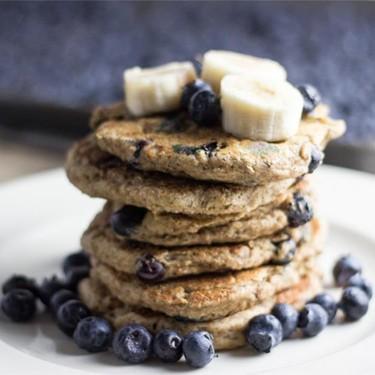 Vegan Blueberry Banana Pancakes Recipe   SideChef