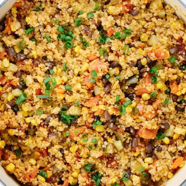 One Pot Mexican Spiced Vegetable Quinoa Recipe   SideChef