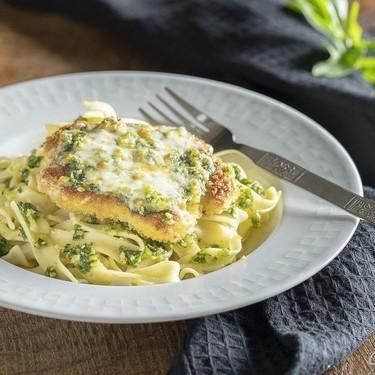 Breaded Pesto Chicken Cutlets Recipe   SideChef