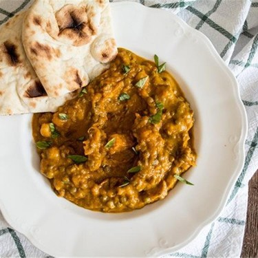 Vegan Kabocha Squash Lentil Curry Recipe | SideChef