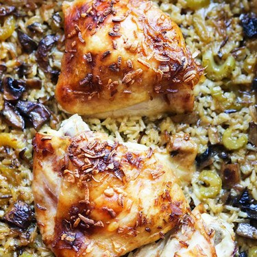 Easy Chicken Rice Bake Recipe   SideChef