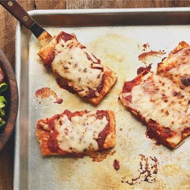 Tofu Parmigiana with Arugula Salad Recipe | SideChef