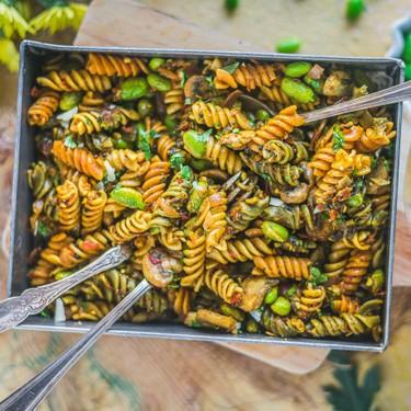 One Pot Indian Curry Pasta Recipe   SideChef