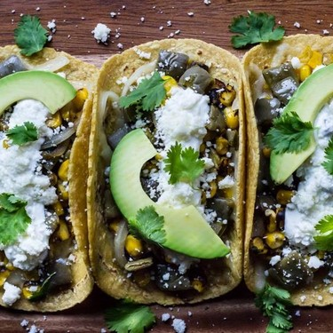 Nopales and Roasted Corn Tacos Recipe   SideChef