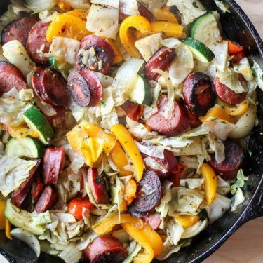Veggie Sausage One Skillet Meal Recipe | SideChef