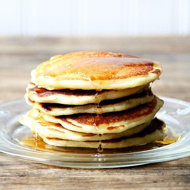 One-Bowl Buttermilk Pancakes Recipe | SideChef