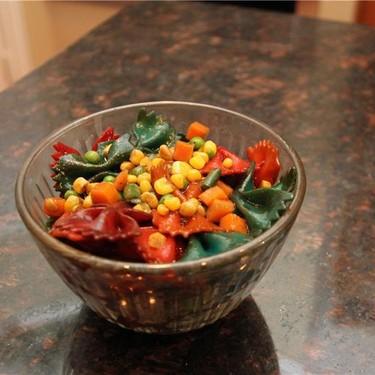 Rainbow Pasta Salad Recipe | SideChef