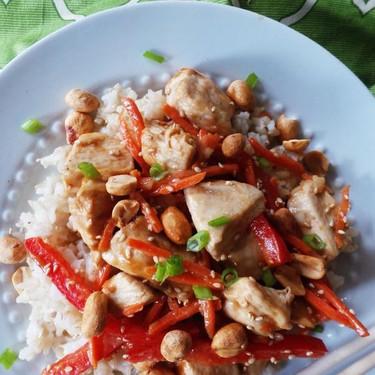 Thai Chicken Peanut Stir-Fry Recipe | SideChef