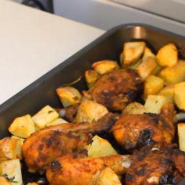 One Pot Roasted Chicken & Potatoes Recipe | SideChef