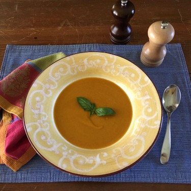 Spicy Carrot Soup with Ginger and Curry Recipe   SideChef
