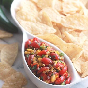 Fire-Roasted Corn Pico Style Salsa Recipe | SideChef