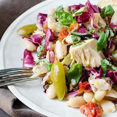 Tuna White Bean Puttanesca Recipe | SideChef