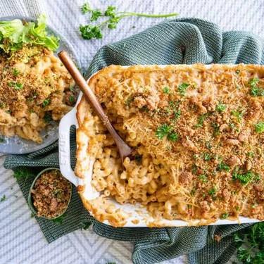 Vegan Jamie Oliver's Mac and Cheese Recipe | SideChef