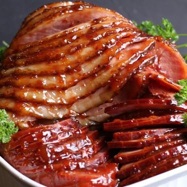 Traditional Holiday Glazed Ham Recipe   SideChef