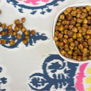Salty Sweet Roasted Chickpeas Recipe   SideChef