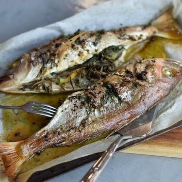 Herb-Stuffed Silver Fish Recipe | SideChef