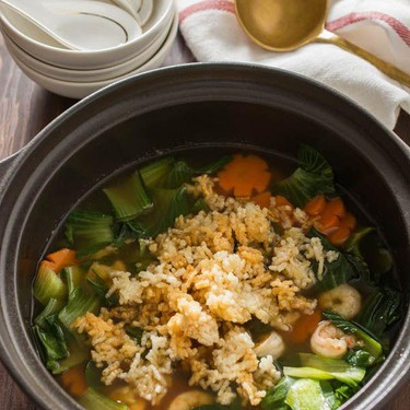 Sizzling Rice Soup Recipe   SideChef