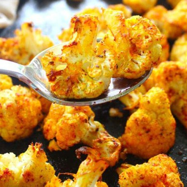 Golden Spice Roasted Cauliflower Recipe | SideChef