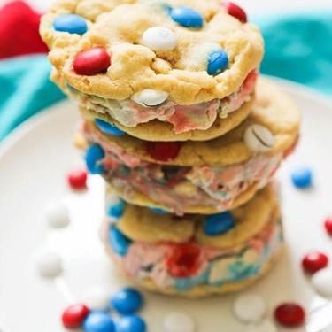 M&M's Ice Cream Cookie Sandwiches Recipe | SideChef