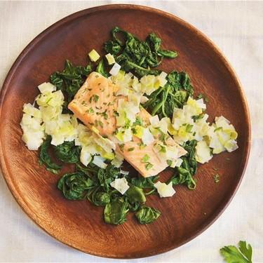 Harlem Renaissance Salmon with Simple Spinach Recipe | SideChef
