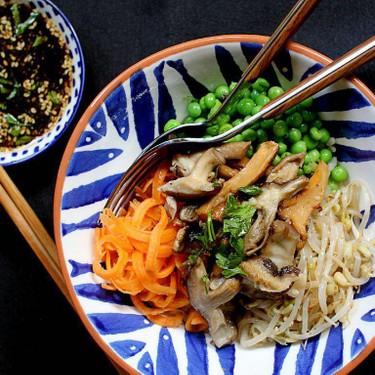Wild Mushroom Donburi (Rice Bowl) Recipe | SideChef