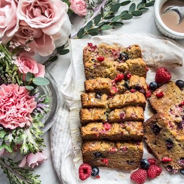 Paleo Lemon Blueberry Raspberry Bread Recipe   SideChef