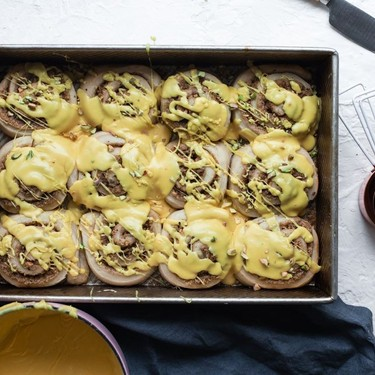 Pistachio Sweet Rolls with Saffron Orange Blossom Glaze Recipe   SideChef