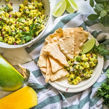 Paleo Mango Avocado Salsa Recipe | SideChef