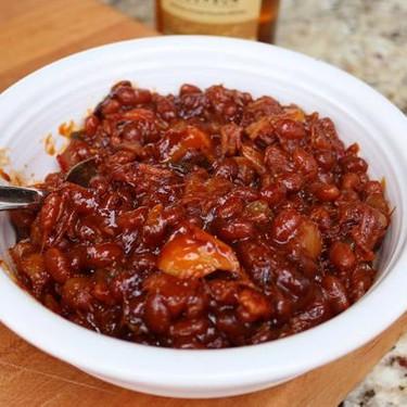 Apple Bourbon BBQ Beans Recipe | SideChef