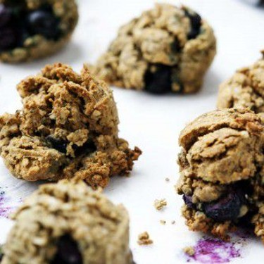 Gluten Free Low Carb Blueberry Cookies Recipe | SideChef