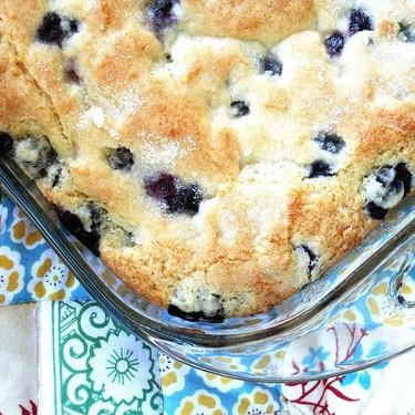 Buttermilk Blueberry Breakfast Cake Recipe | SideChef