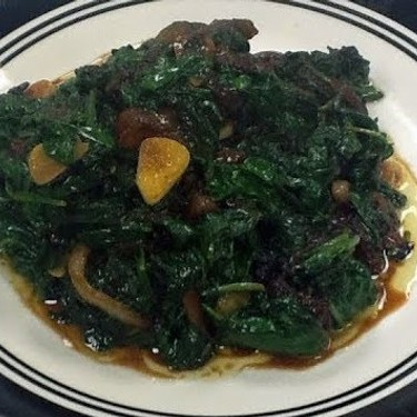 Sauteed Spinach and Onions Recipe   SideChef